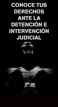 Conoce tus derechos ante la detención e intervención judicial
