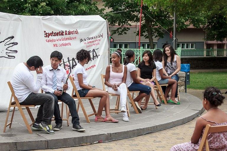 grupos de teatro de calle: