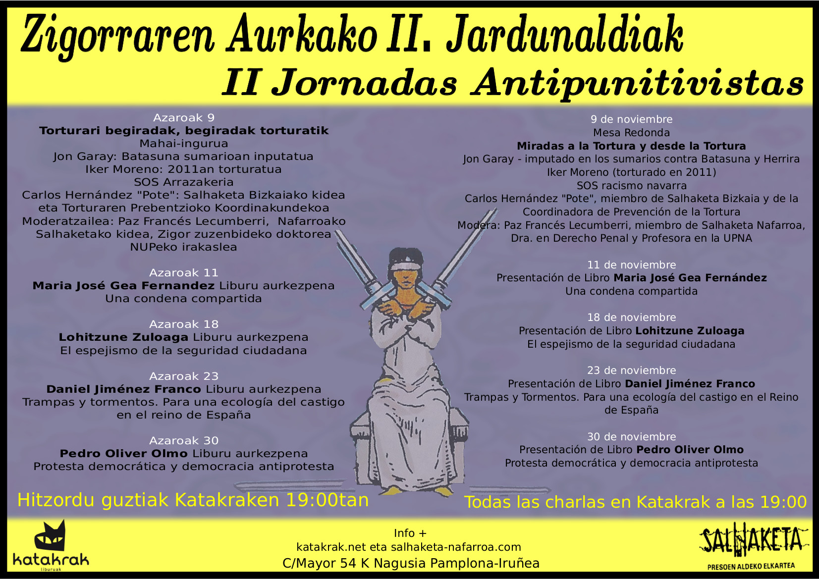 II JORNADAS ANTIPUNITIVISTAS